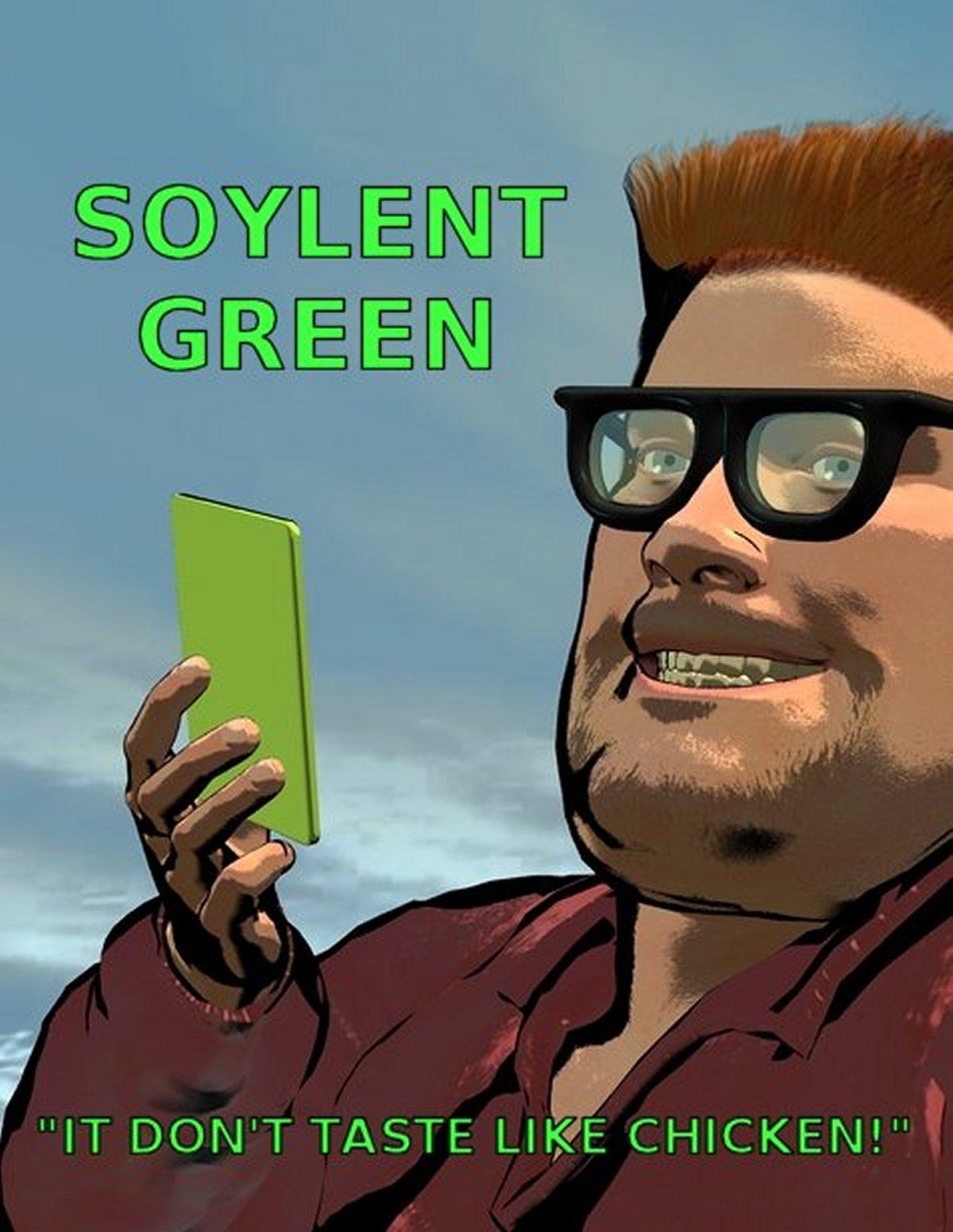 Soylent Green Ad