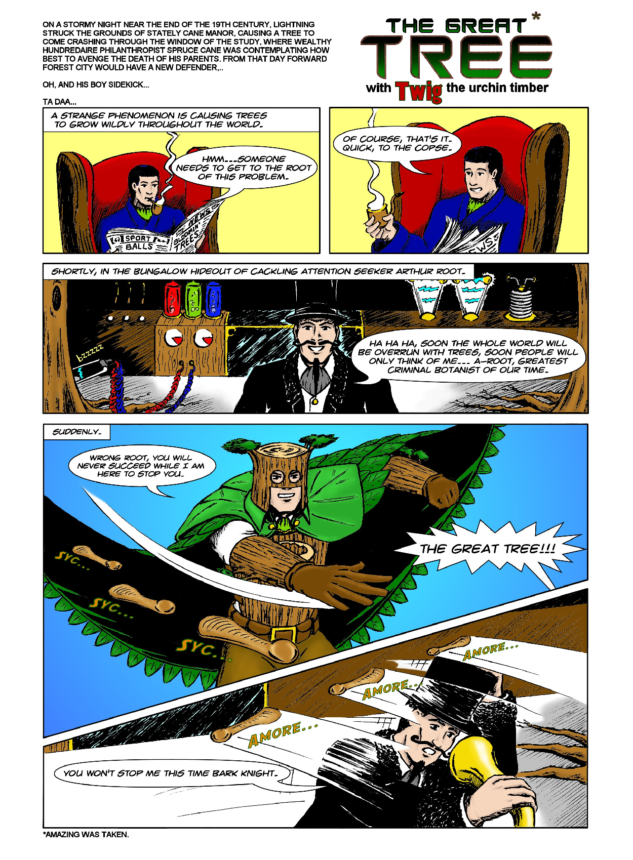 The Great Tree Pg 1.