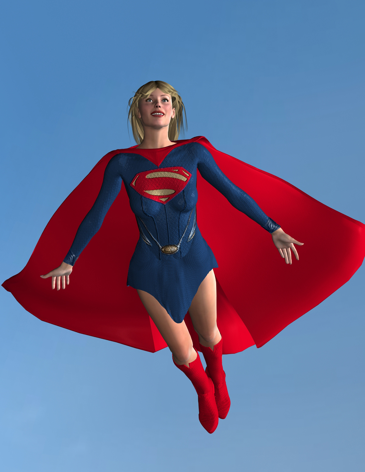 Supergirl - Man of Steel Style